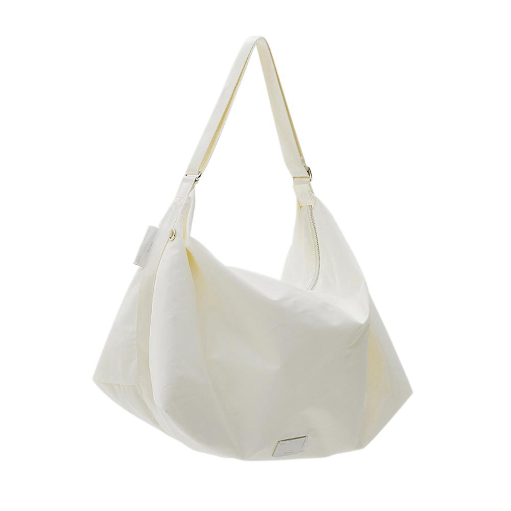 [21SS] FABRIC HOBO BAG - WHITE