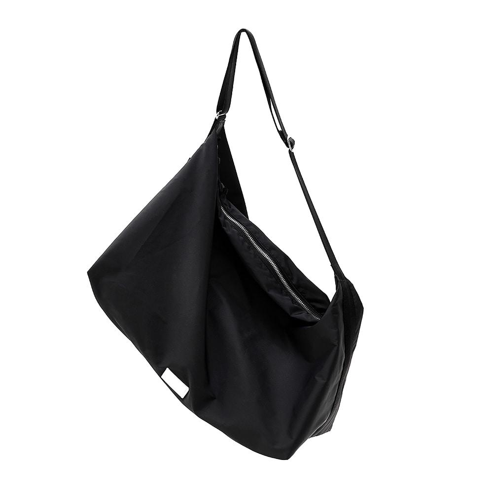 [21SS] FABRIC HOBO BAG - BLACK
