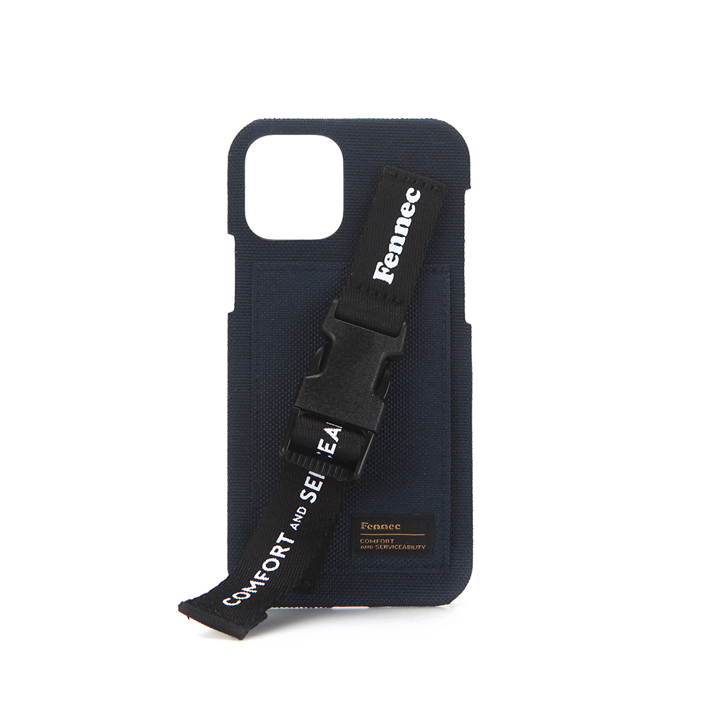 [21SS] C&S IPHONE 12/12 PRO HANDLE STRAP CASE - NAVY