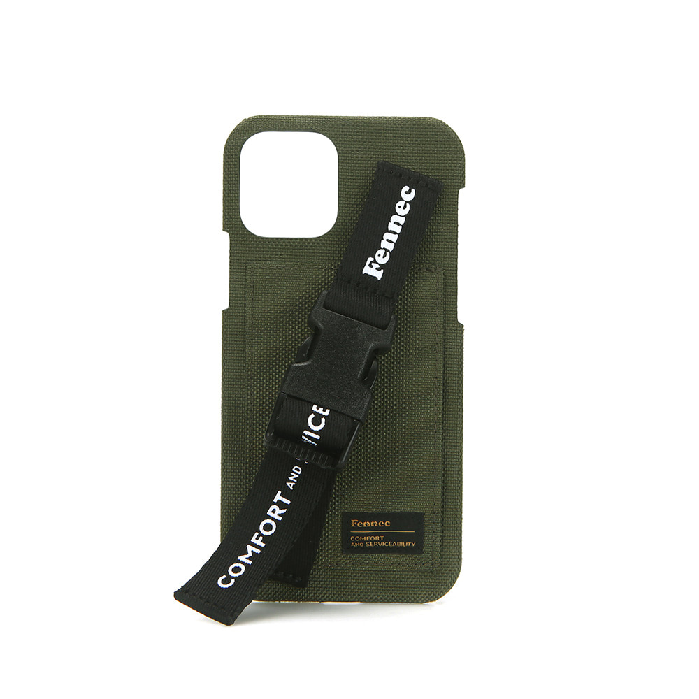 [21SS] C&S IPHONE 11 PRO HANDLE STRAP CASE - KHAKI