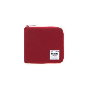 (SCRATCH SALE) C&S ZIPPER WALLET - SMOKE RED