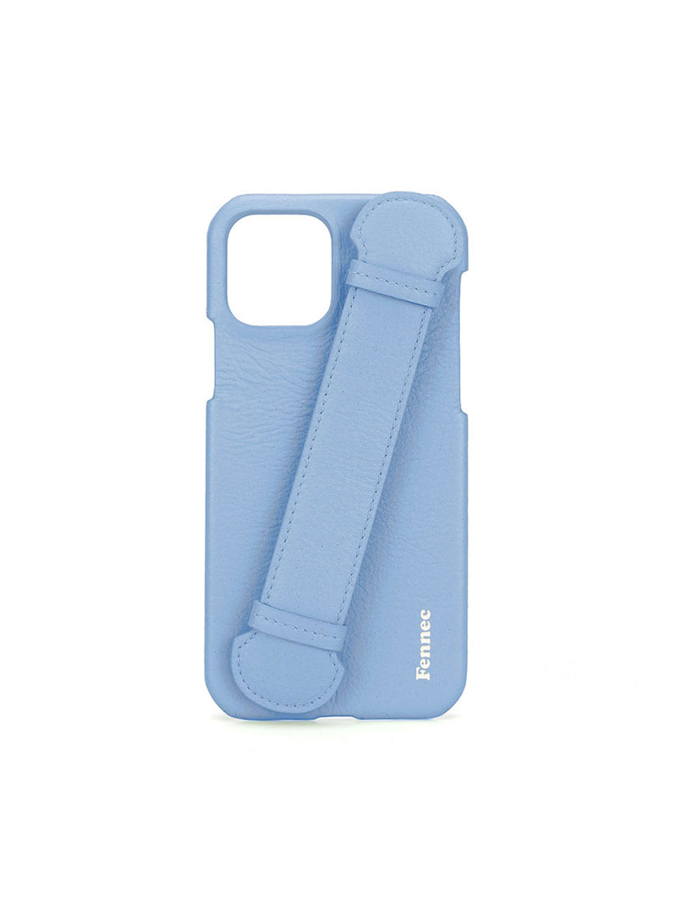 [21SS] LEATHER IPHONE 12 / 12PRO HANDLE CASE - SKY BLUE