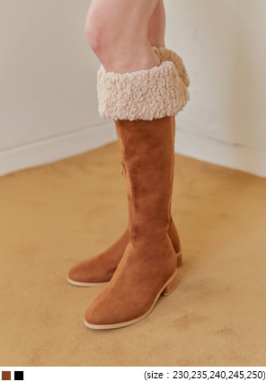 [SHOES] PUFFIN SUEDE DUMBLE LONG BOOTS