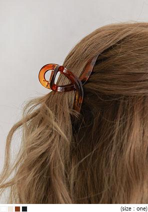 [ACC] FLAN TWIST HAIR CLIP
