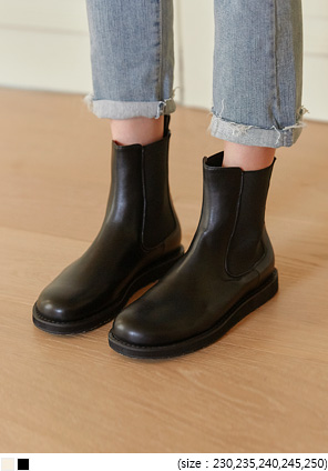 [SHOES] MARCO BANDING CHELSEA BOOTS