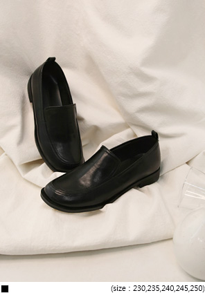 [SHOES] RIMONE SIMPLE LEATHER LOAFER