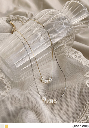 [JEWELRY] MEWRING PEARL NECKLACE