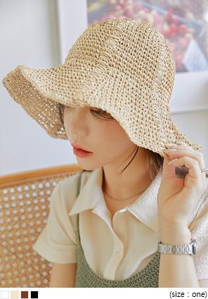 [ACC] HAOI LINE PAPER BUCKET HAT
