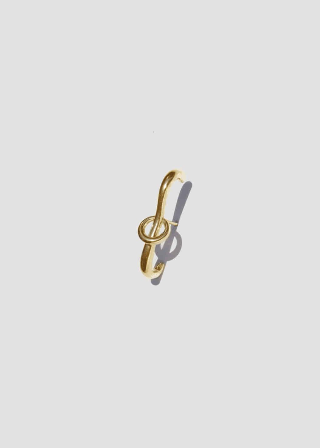 LINK LINK EARRING - GOLD VERMEIL