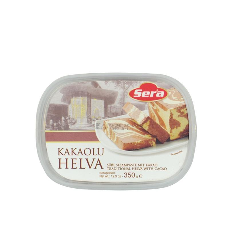 SERA-KAKAOLU HELVA (HELVA WITH CHOCOLATE)