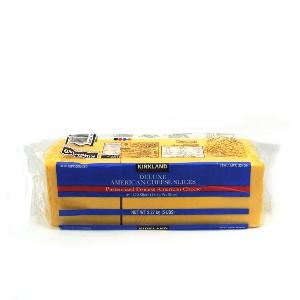 KIRKLAND-AMERICAN CHEESE SLICE (커클랜드 아메리칸 슬라이스 치즈)