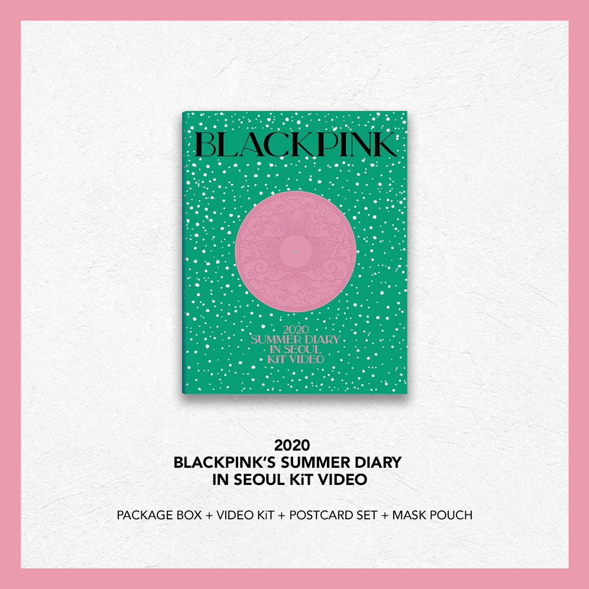 블랙핑크 - 2020 BLACKPINK'S SUMMER DIARY IN SEOUL [키트 비디오]