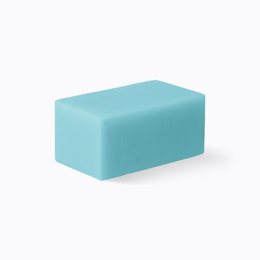 Facial soap blue