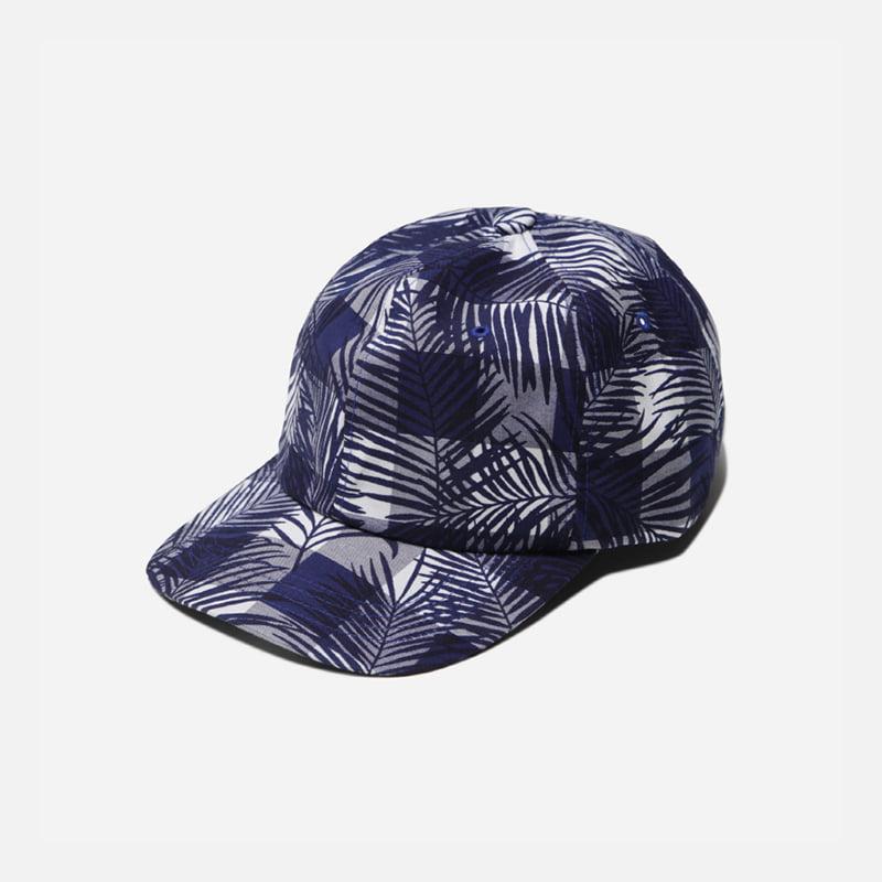 Imagination ball cap _ checked palm navy