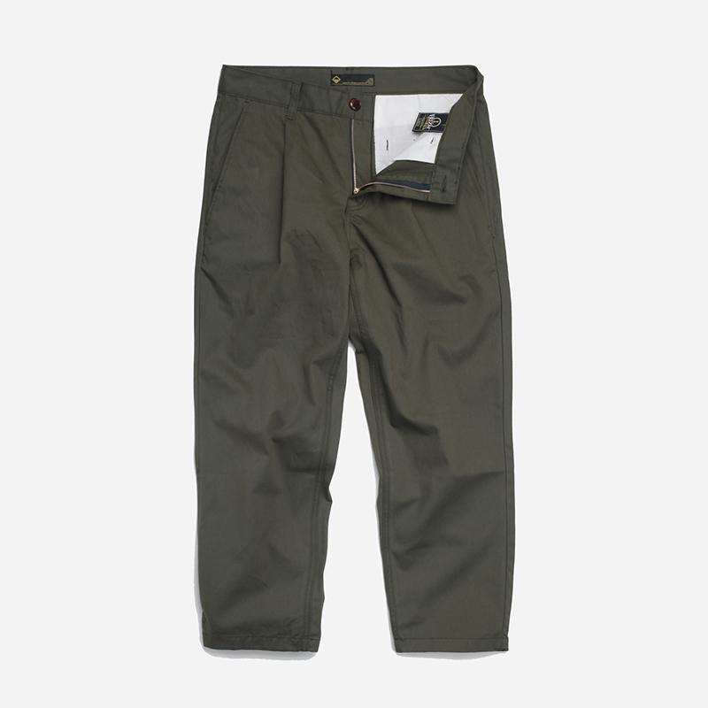 Haworth one tuck pants _ olive