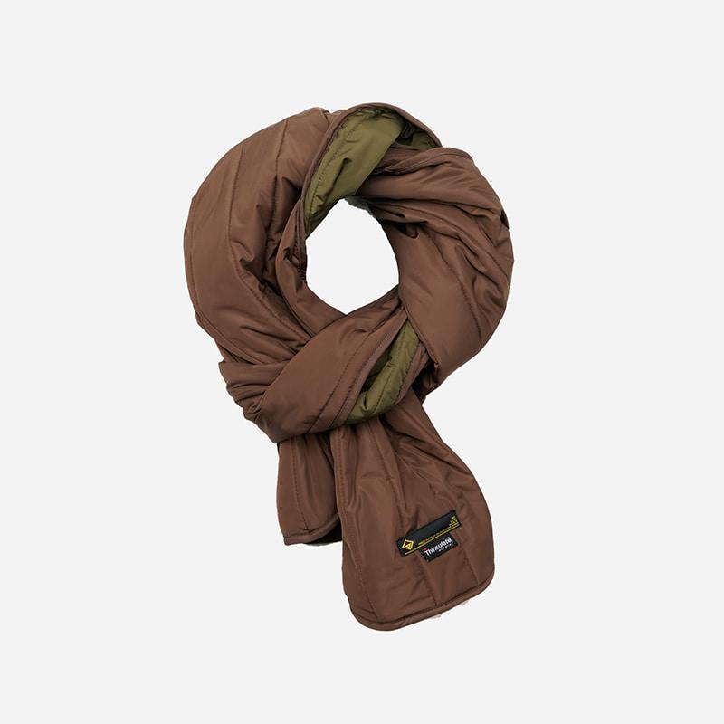 3M Thinsulate padded muffler _ brown