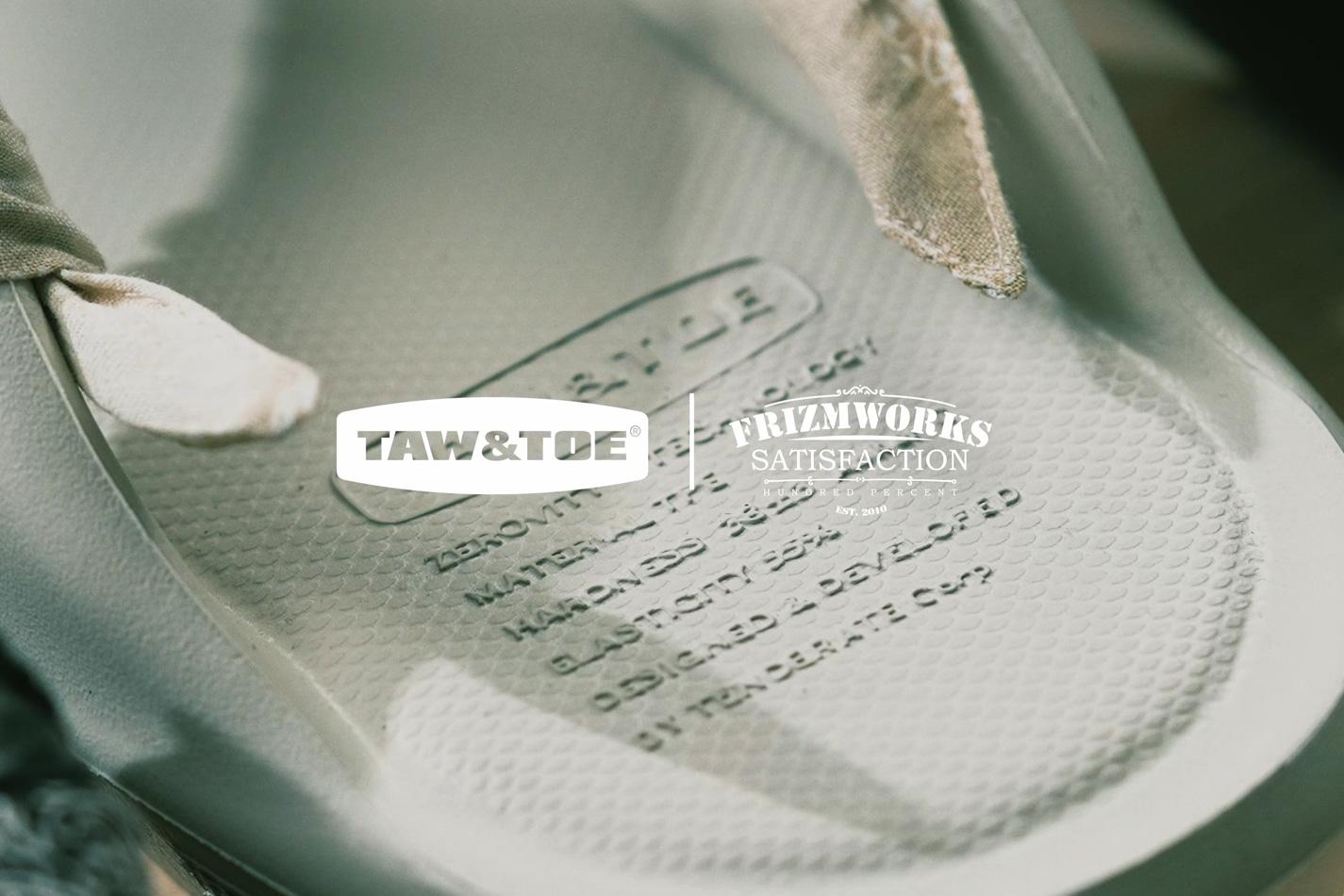 TAW&TOE® X FrizmWORKS 2021 Summer Collaboration Video