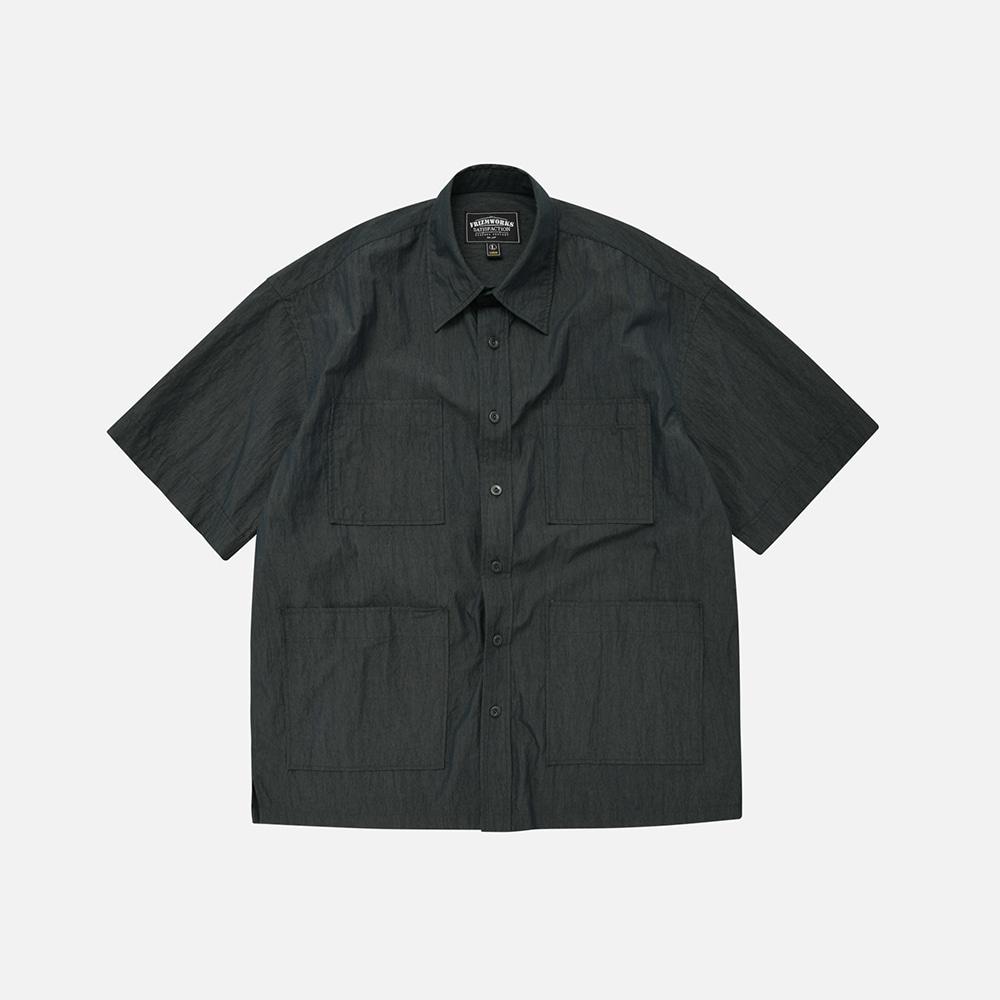 C/N Oversized shirt jacket _ navy