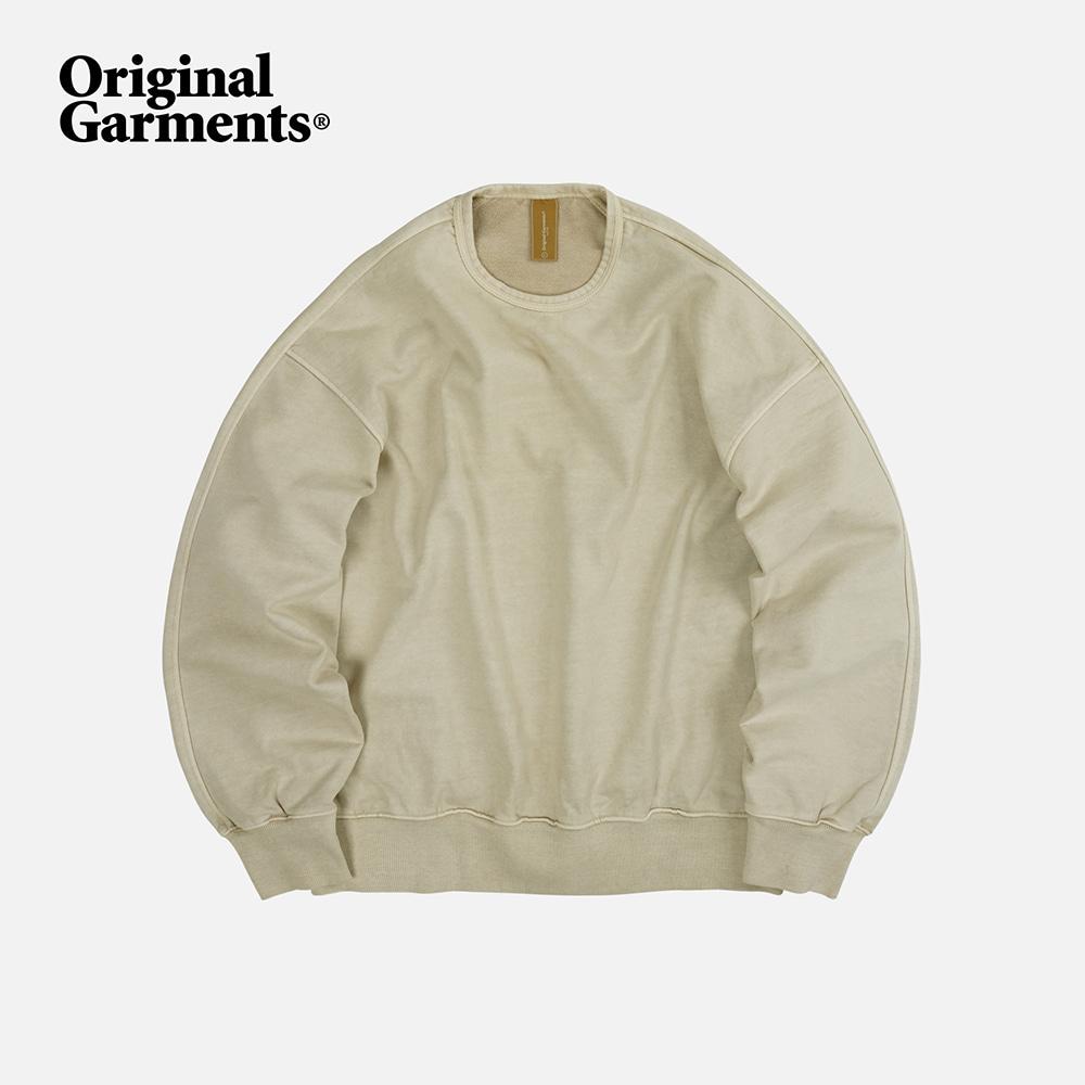 OG Pigment dyeing sweatshirt 002 _ beige