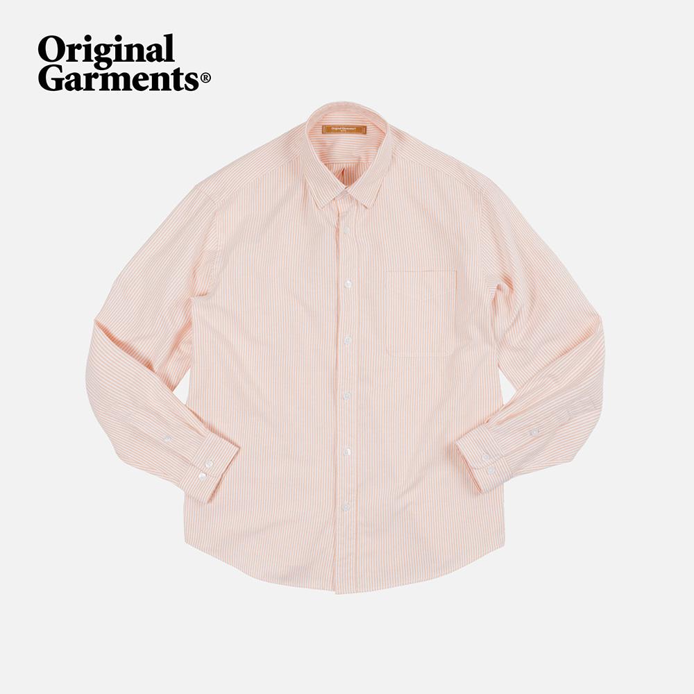 OG Stripe oversized shirt _ orange