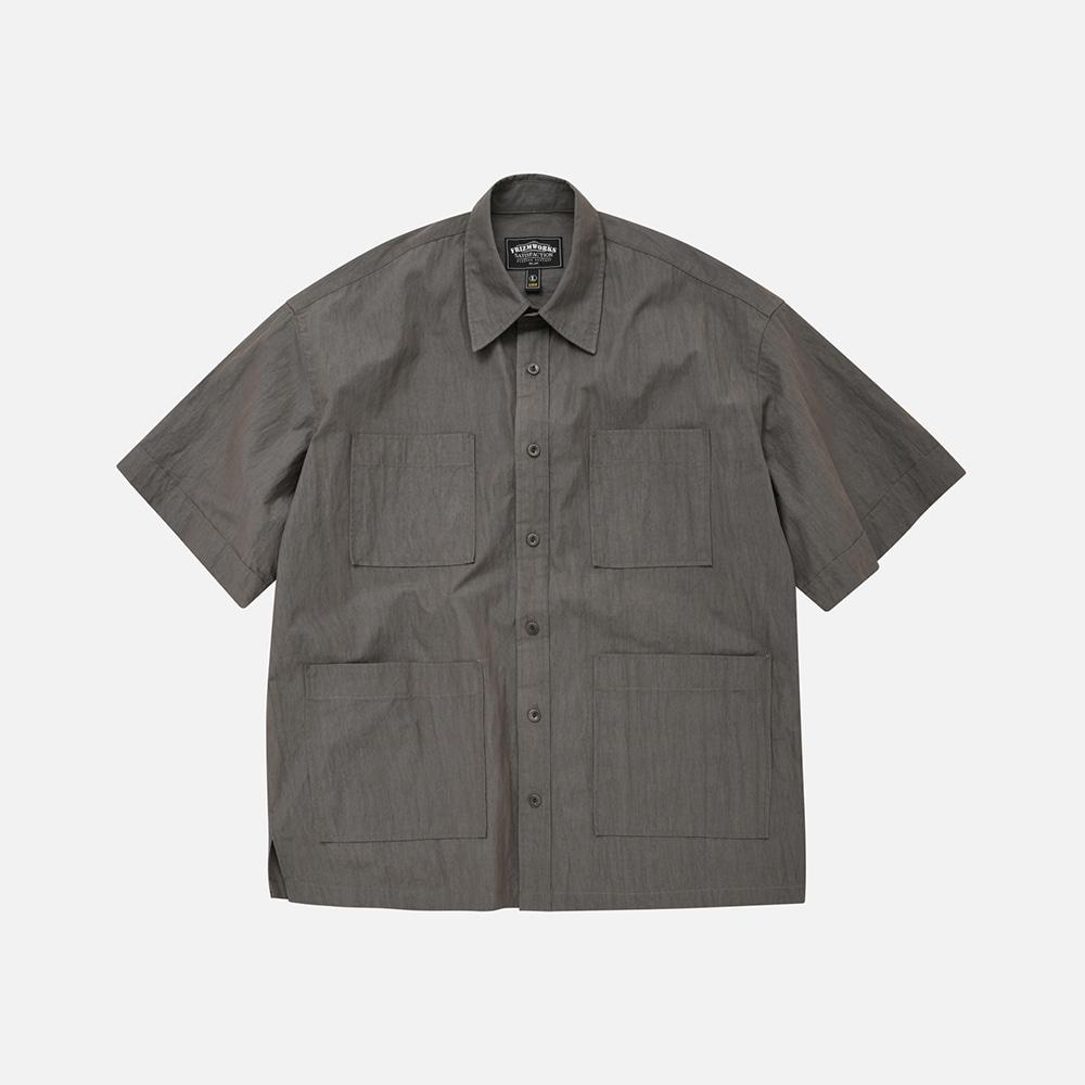 C/N Oversized shirt jacket _ dark gray