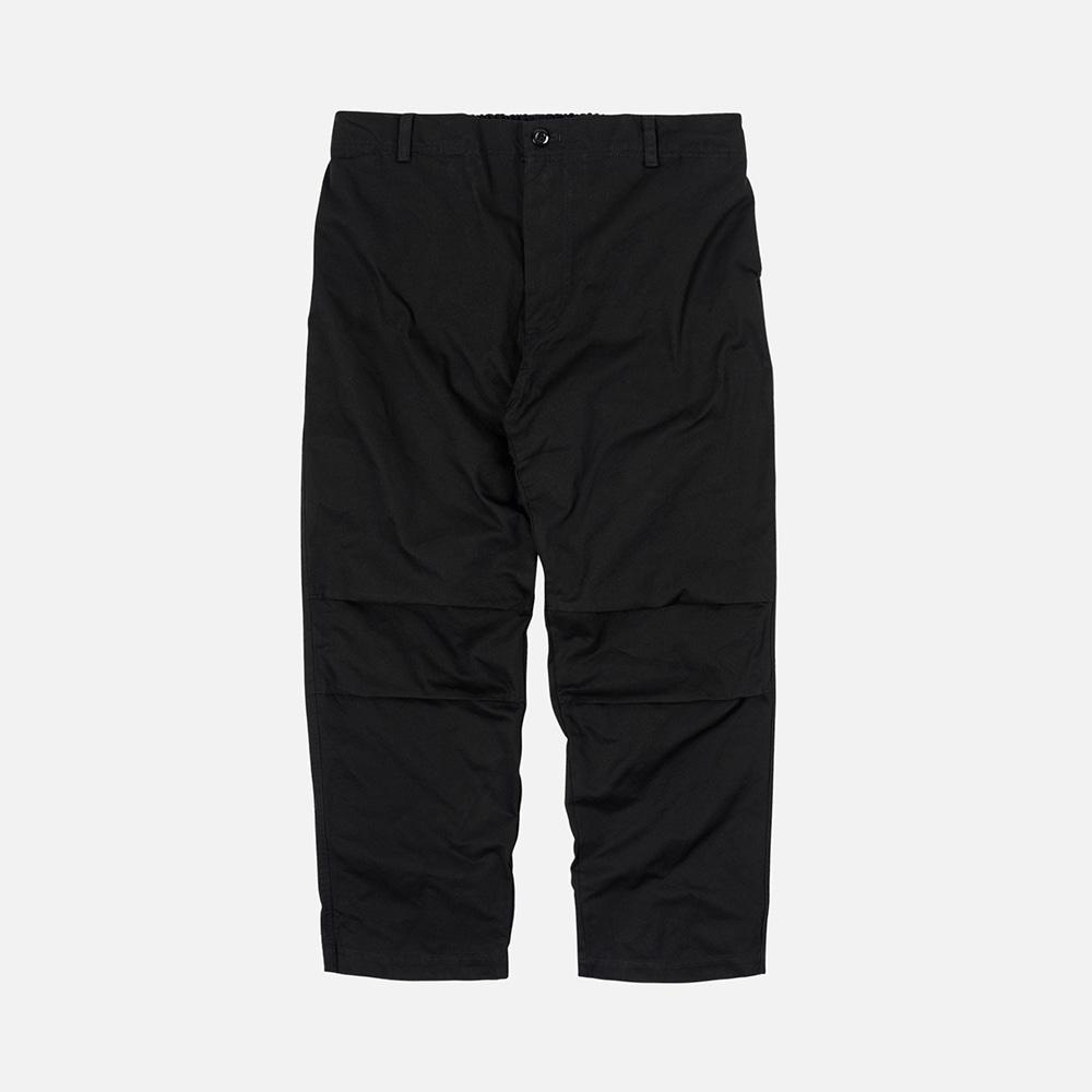 Double cloth easy pants _ black