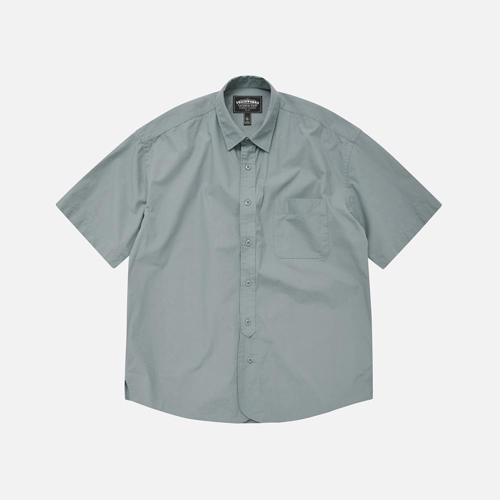 Rounding oversized shirt _ sea green[예약 배송]6월 15일 순차배송
