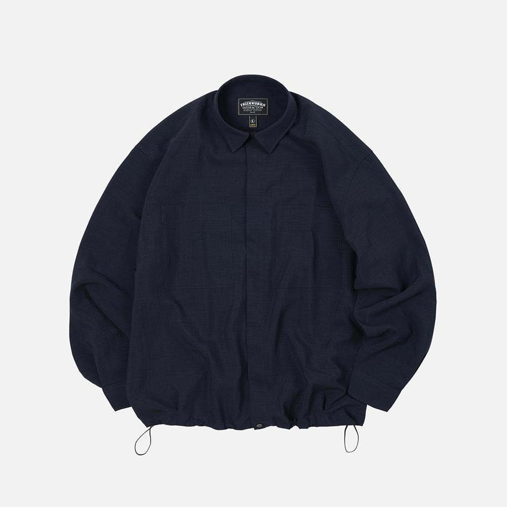 String oversized shirt _ navy
