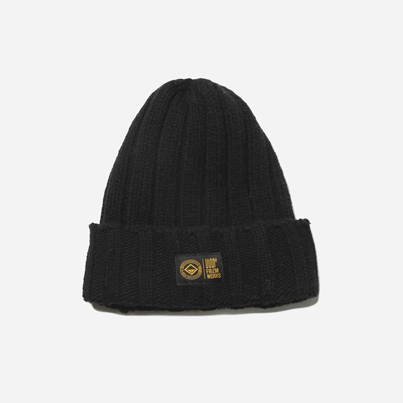 Wool beanie _ black[FrizmWORKS X USS2]