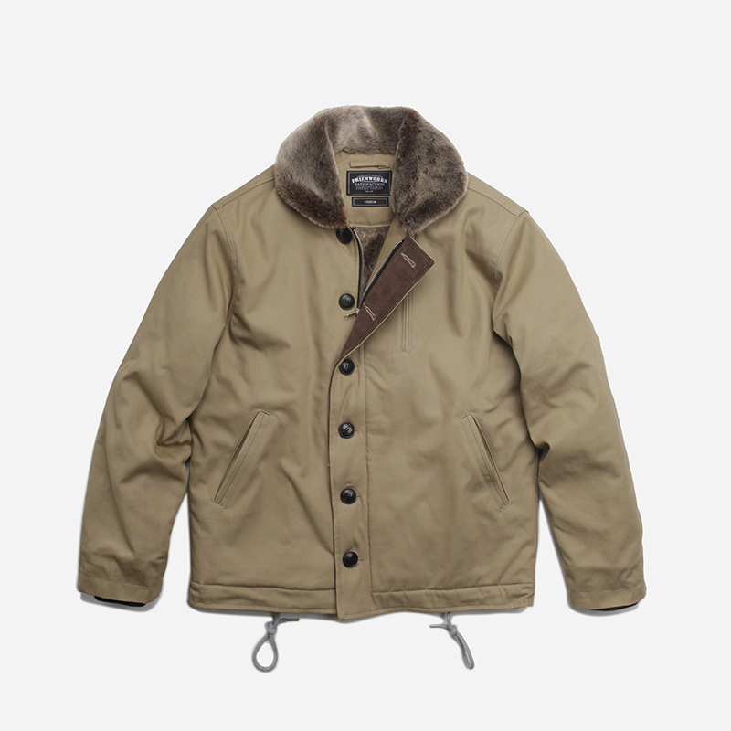 Edgar N-1 Deck jacket _ beige
