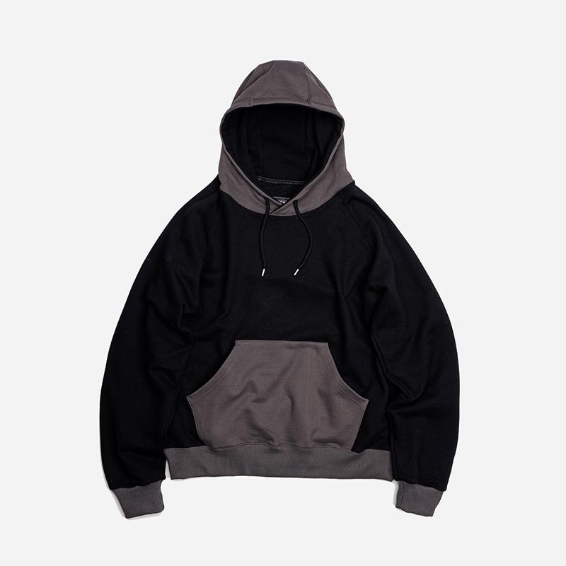 Division sweat hoody _ black
