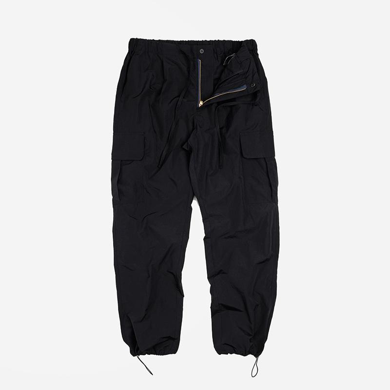 Cargo string pants _ black