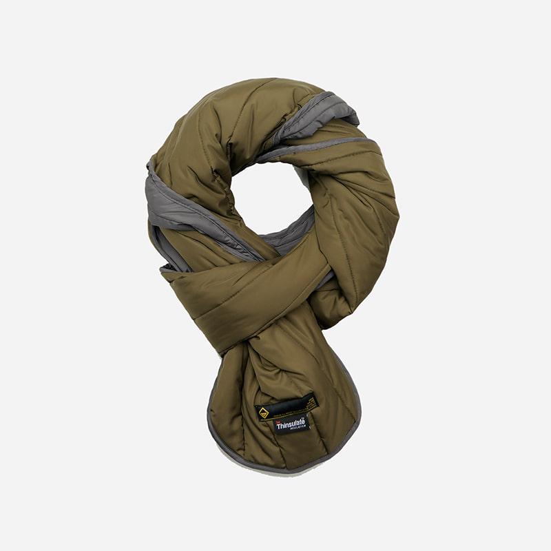 3M Thinsulate padded muffler _ olive