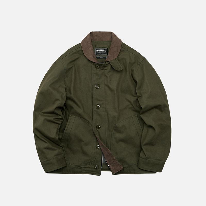 Durable N-1 deck jacket 002 _ olive