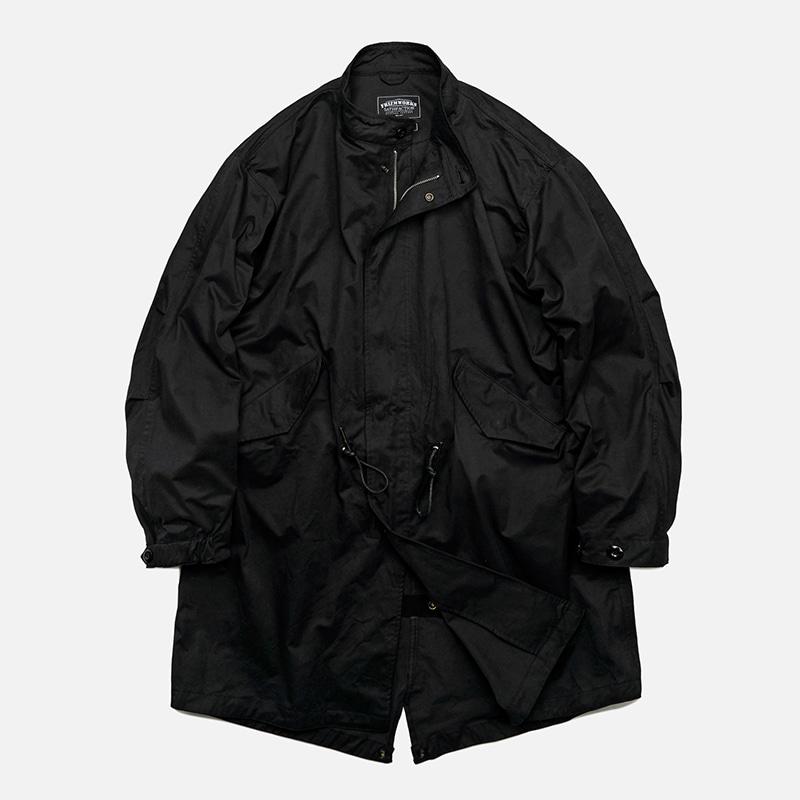 Flavor M65 fishtail jacket _ black