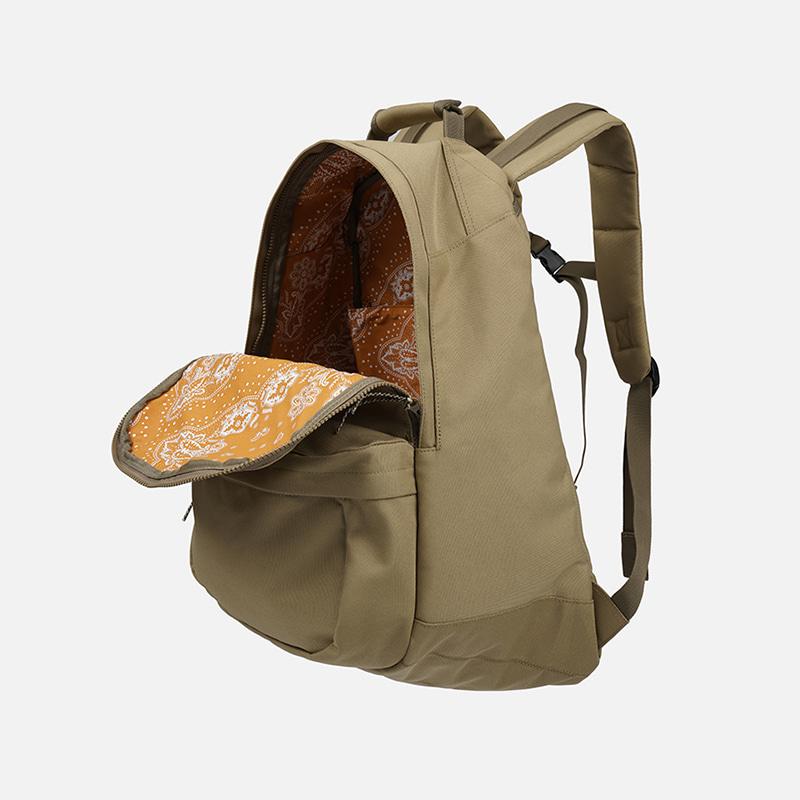 Bandana lining cordura backpack _ coyote