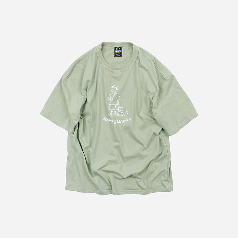 WILLY & WORKY Tee _ mint