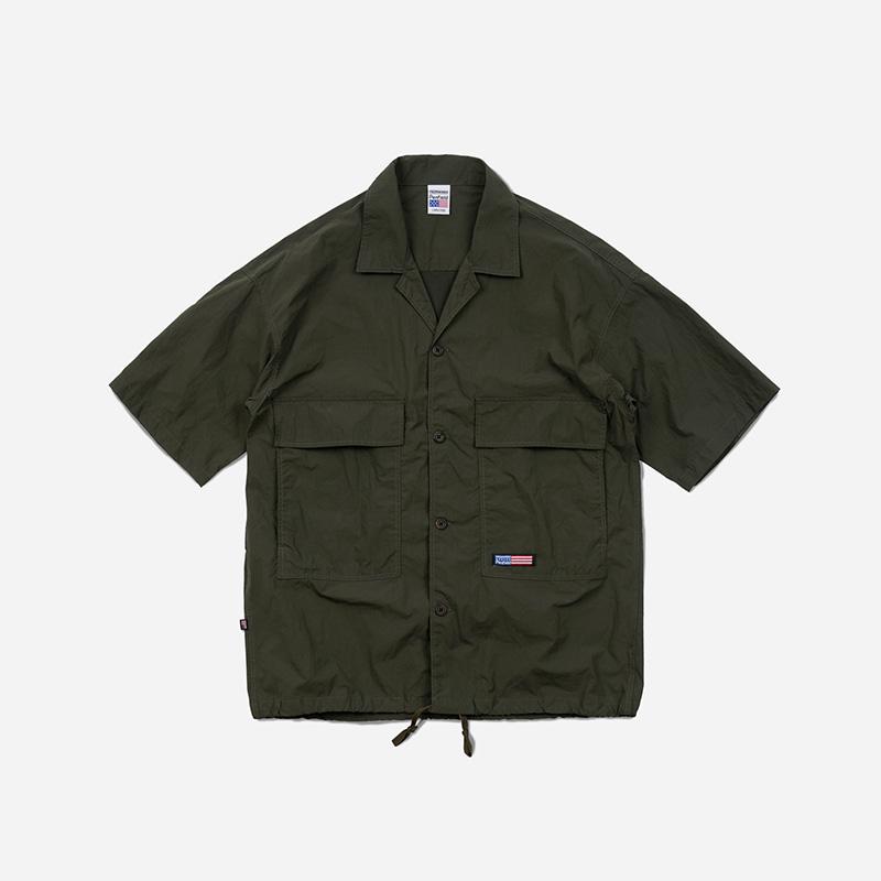 [PENFIELD X FRIZMWORKS] BDU String shirt jacket _ khaki