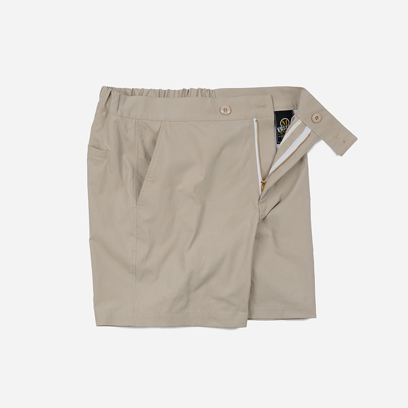 C/N Strap shorts _ ivory