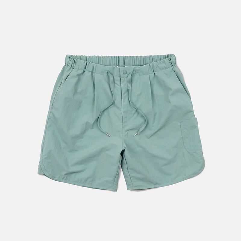 Nylon swim shorts _ pistachio