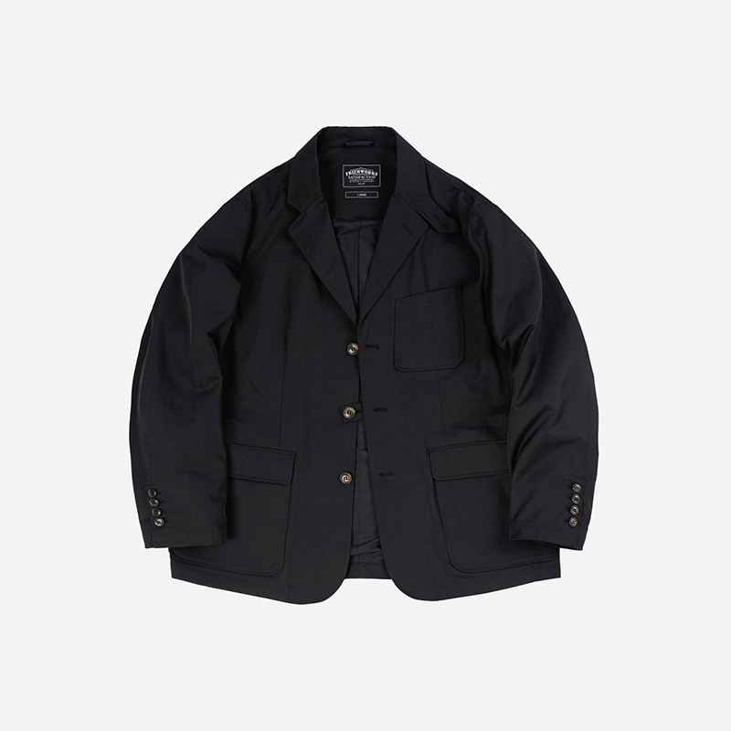 Travel set-up blazer jacket _ black