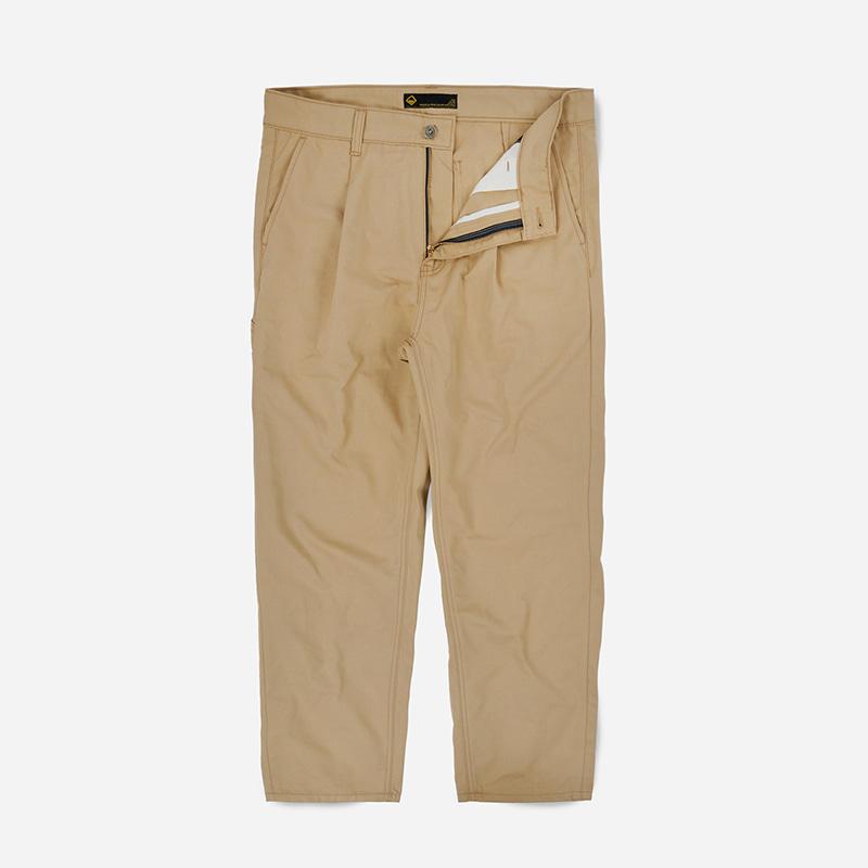 Carpenter one tuck pants _ beige