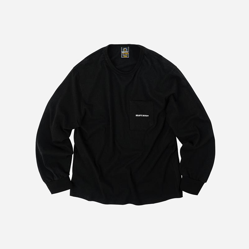 10S HD Pocket long sleeve _ black
