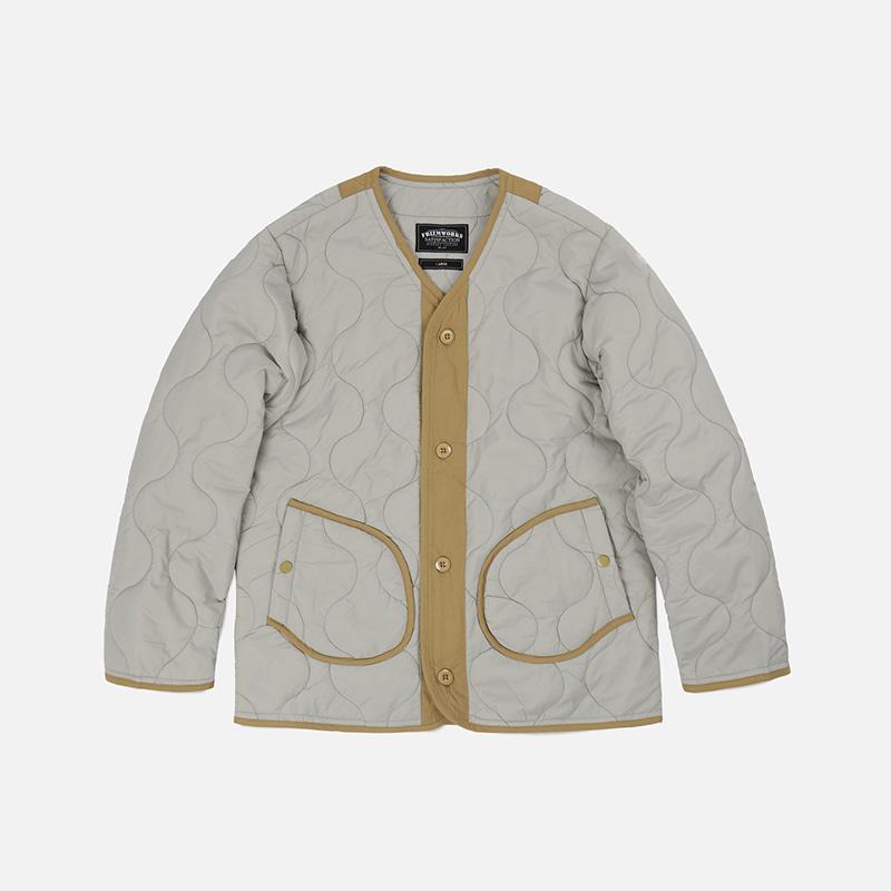 M1965 Field liner jacket 002 _ light gray