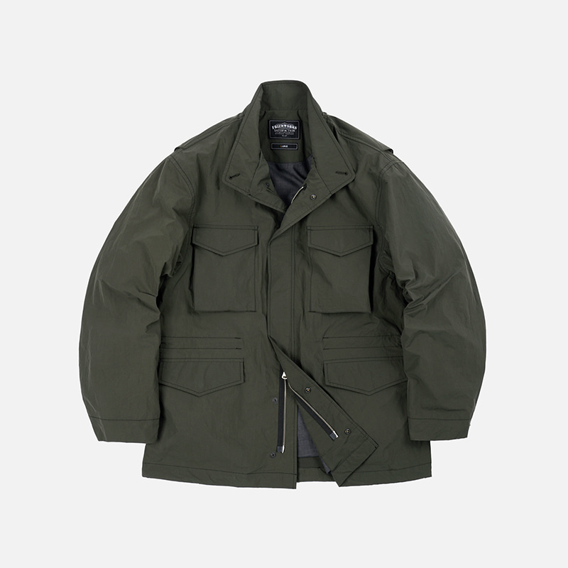 Oversized M65 field jacket _ olive