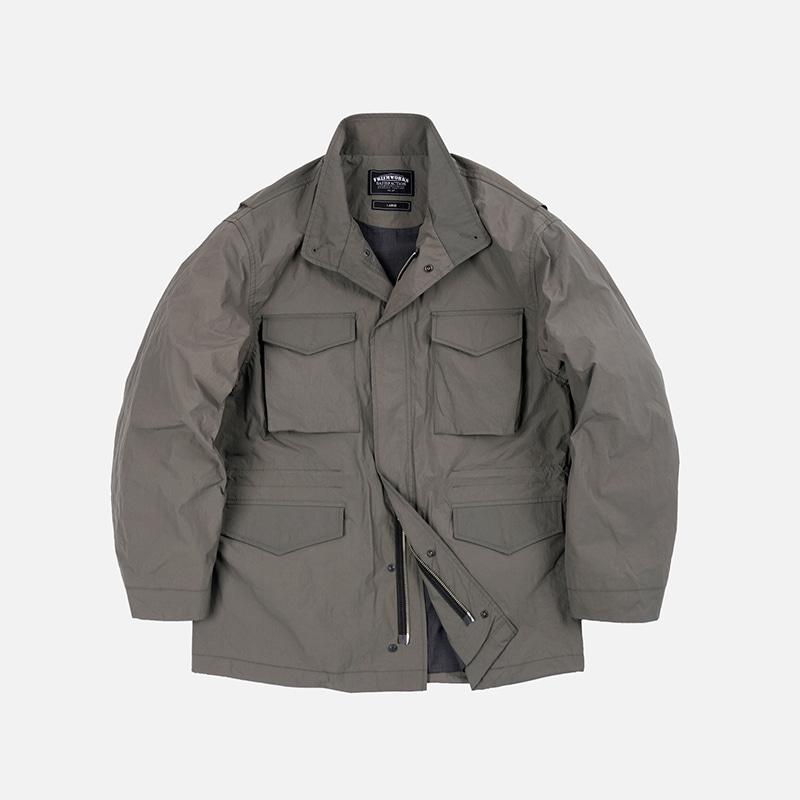 Oversized M65 field jacket _ gray