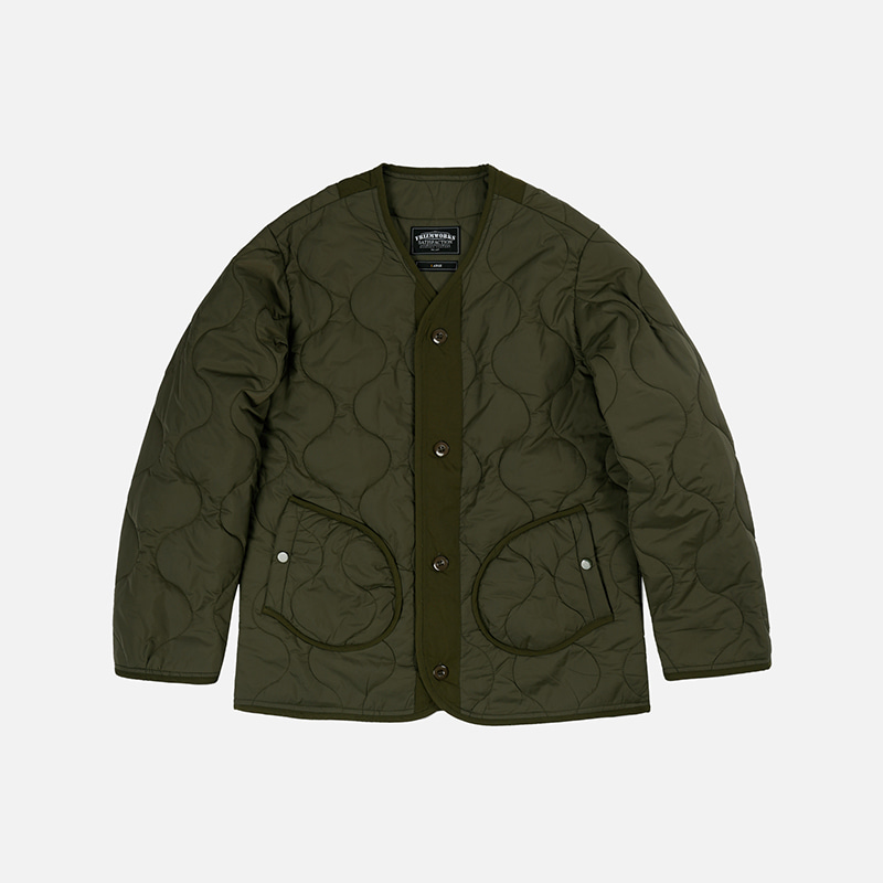 M1965 Field liner jacket 002 _ olive