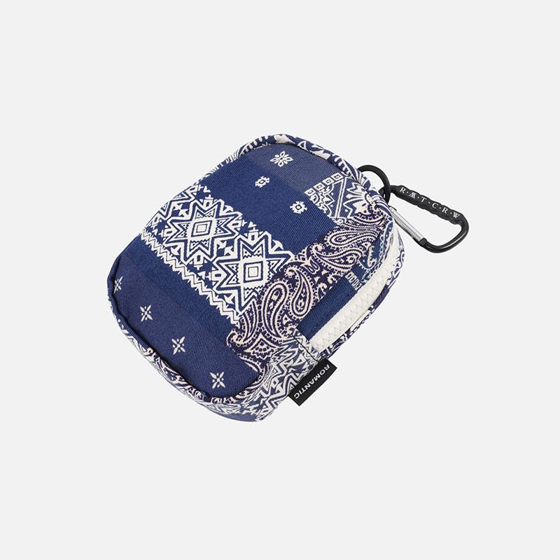 [FWS X RMTC] Bandana karabiner pouch _ blue