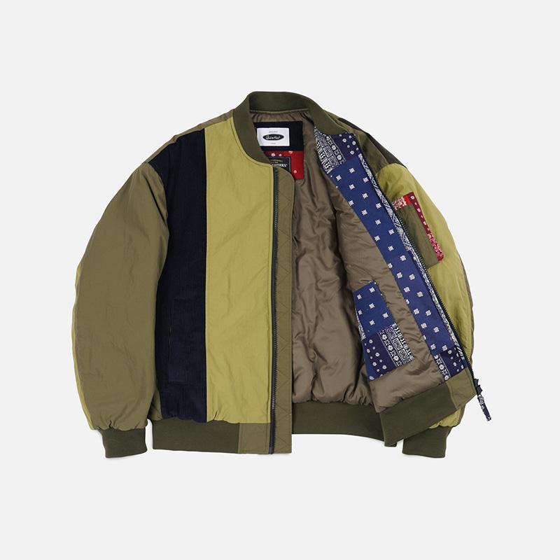[FWS X QUIETIST] Union MA-1 flight jacket _ olive
