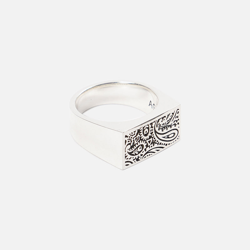 [FWS X AGINGCCC] Paisley 92.5 silver ring